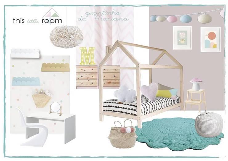 Mood Mariana: Quarto de crianças  por This Little Room