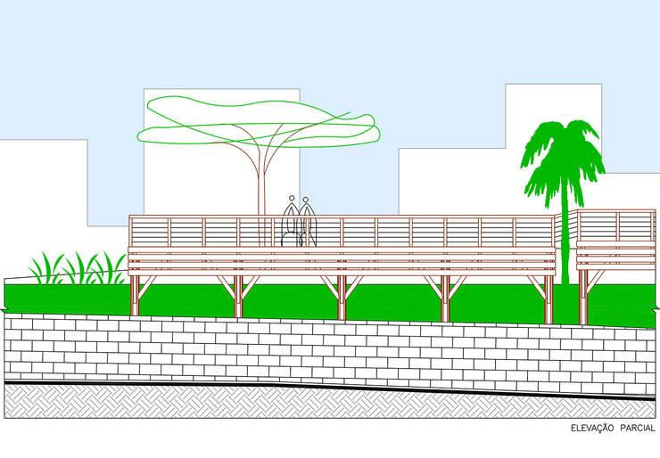 TERRAÇO DOS RESEDÁS: Locais de eventos  por Douglas Piccolo Arquitetura e Planejamento Visual LTDA.