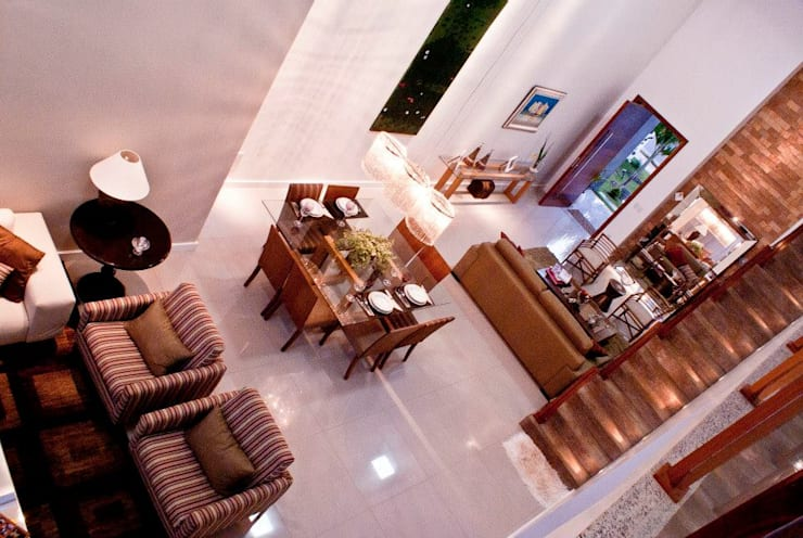 modern Living room by WB Arquitetos Associados