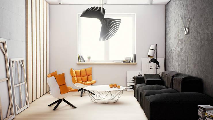 """Artist apartment - animation and visualizations: styl {:asian=>""""azjatyckie"""", :classic=>""""klasyczny"""", :colonial=>""""kolonialny"""", :country=>""""wiejskie"""", :eclectic=>""""eklektyczny"""", :industrial=>""""przemysłowy"""", :mediterranean=>""""śródziemnomorski"""", :minimalist=>""""minimalistyczny"""", :modern=>""""nowoczesny"""", :rustic=>""""rustykalny"""", :scandinavian=>""""skandynawski"""", :tropical=>""""tropikalny""""}, w kategorii  zaprojektowany przez Skyline,"""