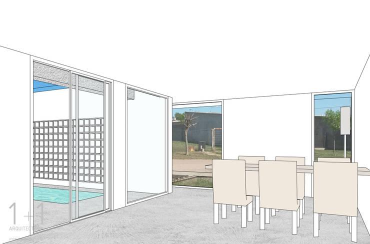Interior :  de estilo  por 1+1 arquitectura,