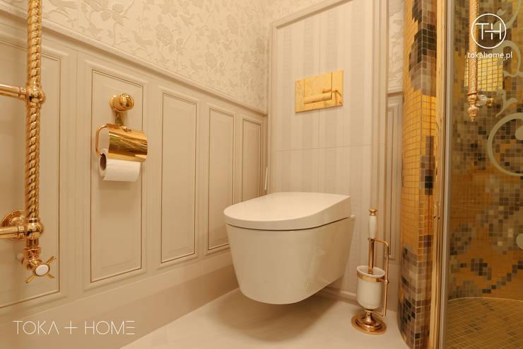 Paryski splendor: styl , w kategorii Łazienka zaprojektowany przez TOKA + HOME