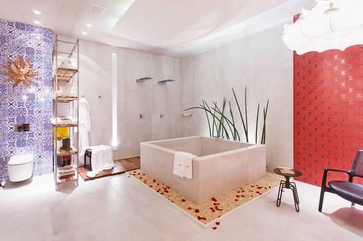 Marcus Leão Arquitetura의  욕실