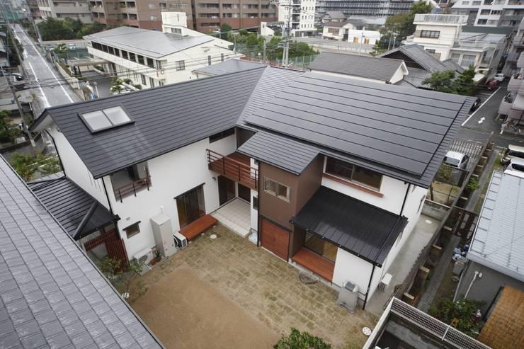 西新の家: AMI ENVIRONMENT DESIGN/アミ環境デザインが手掛けた家です。,和風