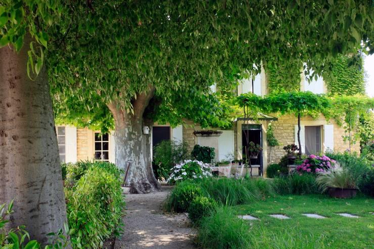 Garden by CONCEPTUELLES PAYSAGE ET DECORATION