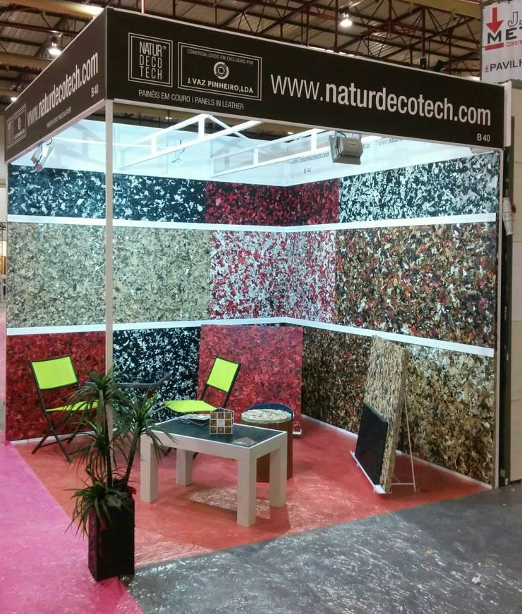 NaturDecoTech - Painéis 100% em Couro: Casa  por J. VAZ PINHEIRO LDA