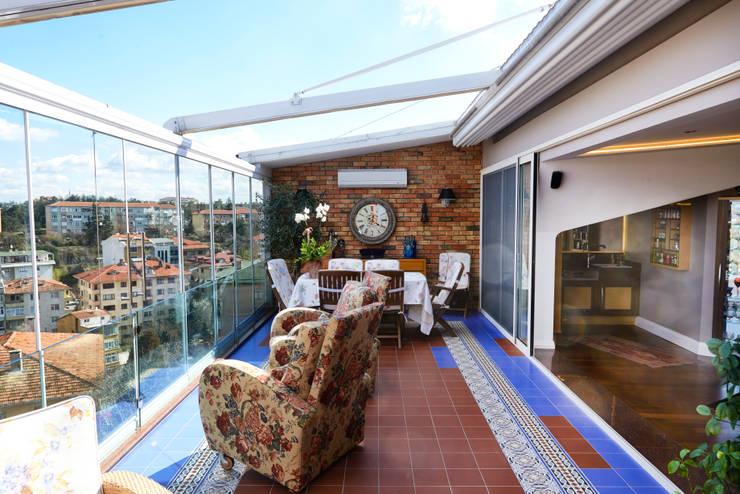 Terrace by İndeko İç Mimari ve Tasarım