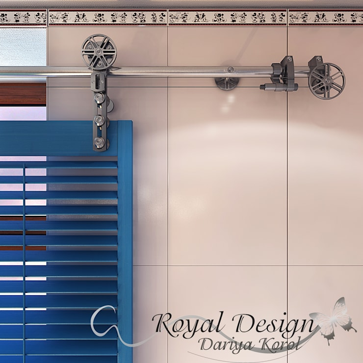 Design project of the children's bathroom in a private house.:  в . Автор – Your royal design,