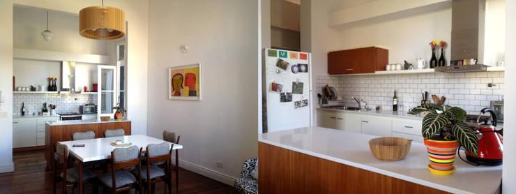 TEODORO GARCIA: Casas de estilo  por taller125
