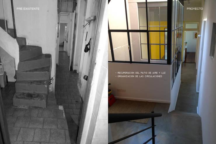 TEODORO GARCIA: Pasillos y recibidores de estilo  por taller125