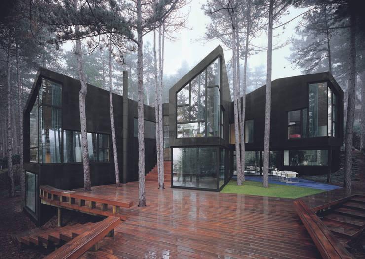 Projekty,  Domy zaprojektowane przez The Sibarist Property & Homes