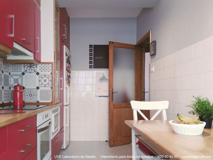 Cozinhas  por UVE laboratorio de diseño