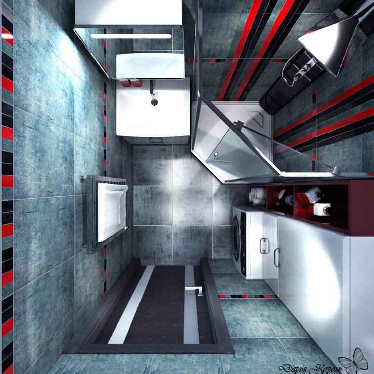 Bathroom by Your royal design, Industrial Concrete