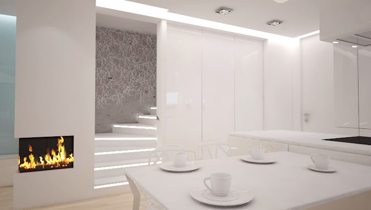 Dining room by 3miasto design