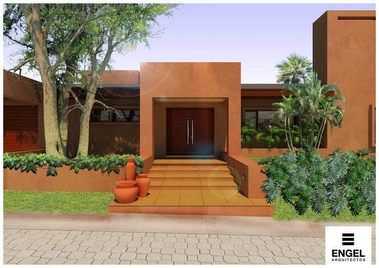 CASA DA: Casas de estilo  por ENGEL arquitectos