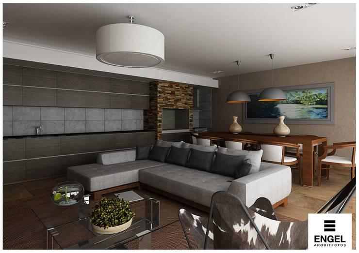Casa - Quincho:  de estilo  por ENGEL arquitectos