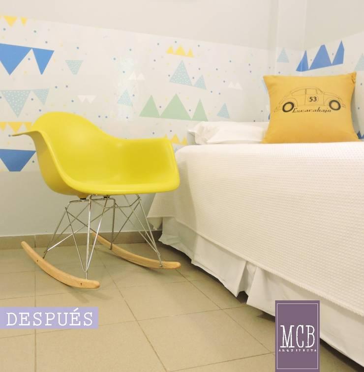 SALA 1 – ÁREA DE TERAPIA RESPIRATORIA de MCB Arquitectura - Diseño de interiores