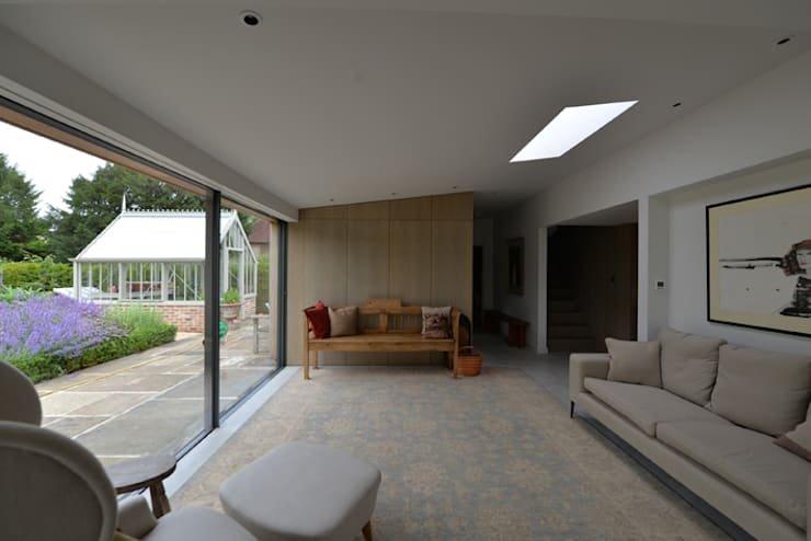 Eton Cottage: modern Living room by BBM Sustainable Design Limited