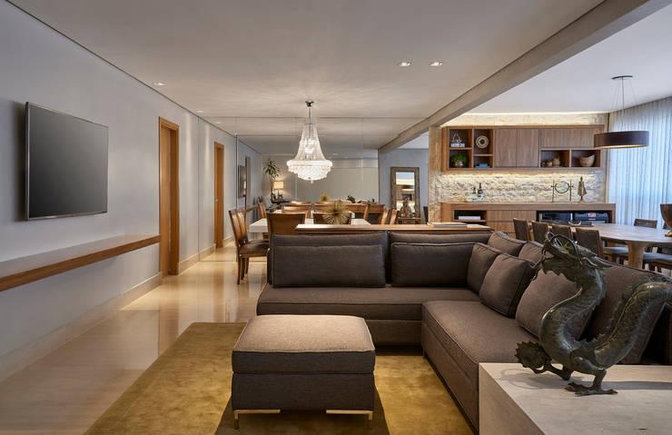 Estar - Home : Salas de jantar modernas por Juliana Goulart Arquitetura e Design de Interiores