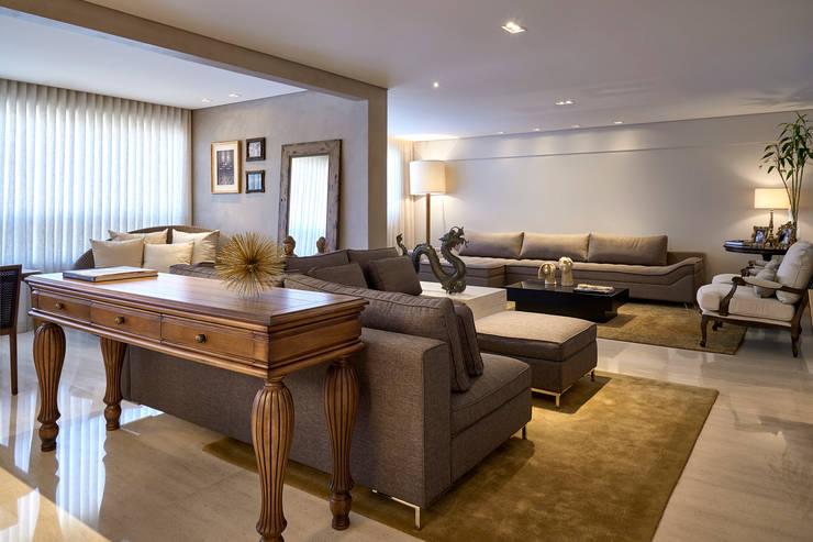 Estar- Home: Salas de estar modernas por Juliana Goulart Arquitetura e Design de Interiores