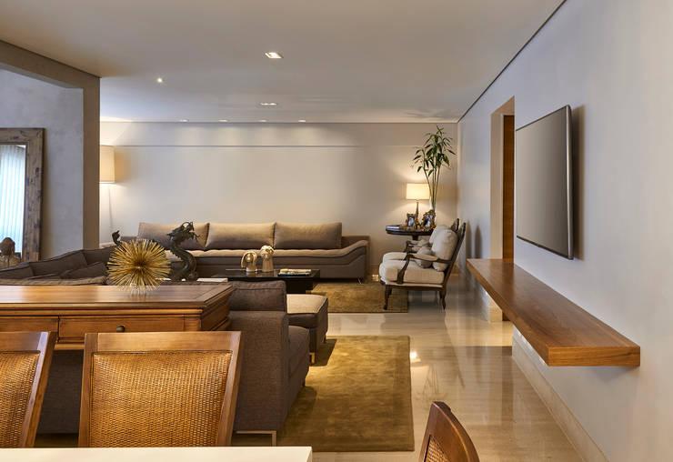 Estar Home: Salas de estar modernas por Juliana Goulart Arquitetura e Design de Interiores