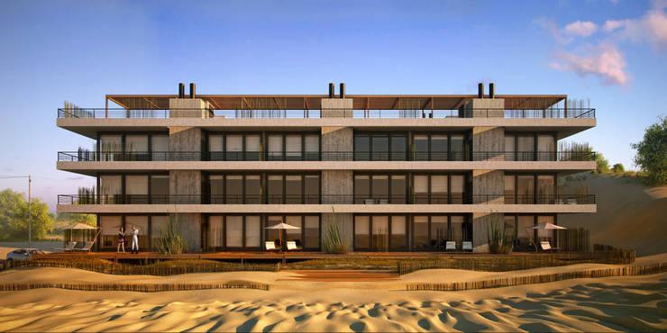 DUNA Casas modernas: Ideas, imágenes y decoración de Gonzalo Veloso Arquitectos Moderno