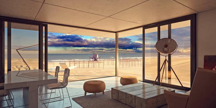 DUNA Livings modernos: Ideas, imágenes y decoración de Gonzalo Veloso Arquitectos Moderno