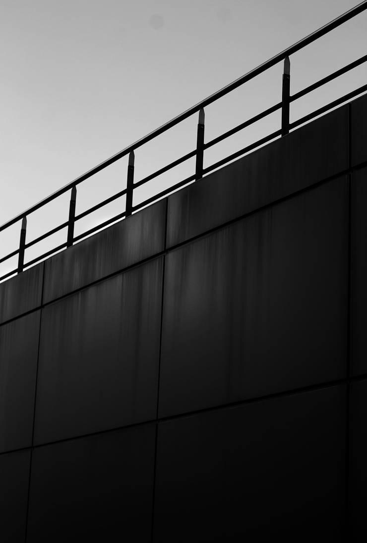 Black Bridge: Pasillos y vestíbulos de estilo  por Gabriel Gomez Photography