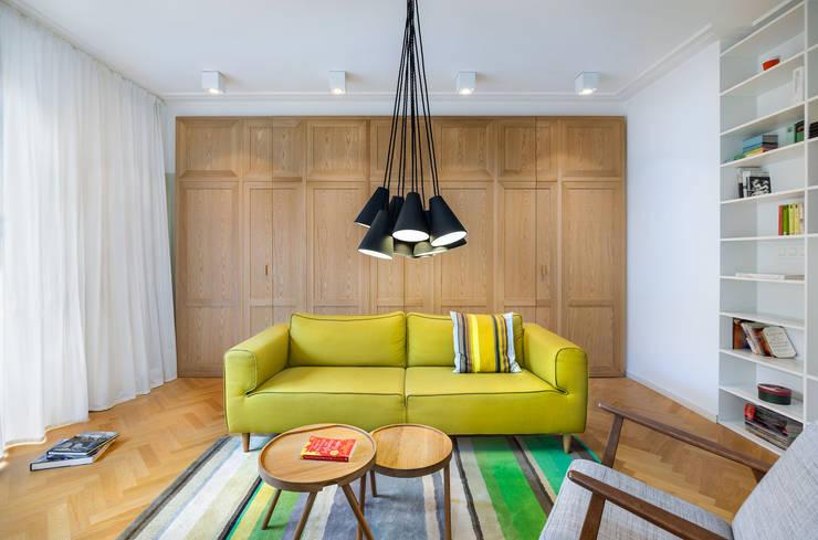 غرفة المعيشة تنفيذ Assen Emilov Photography