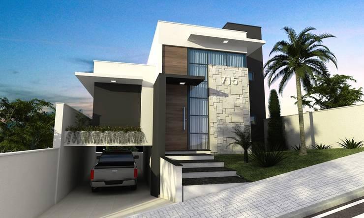 Houses by valente arquitetura e construção