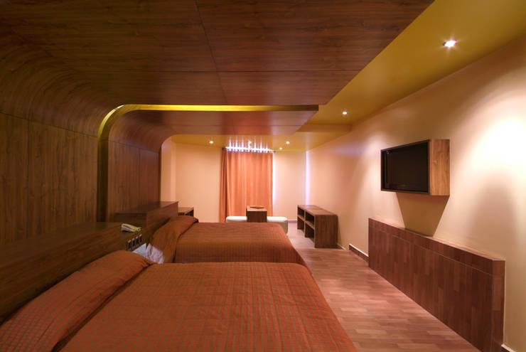Kamar Tidur oleh DIN Interiorismo