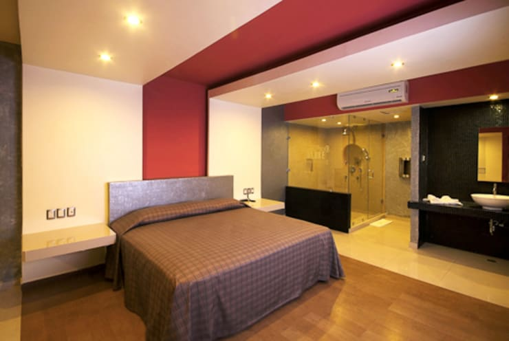 DIN Interiorismo が手掛けた寝室