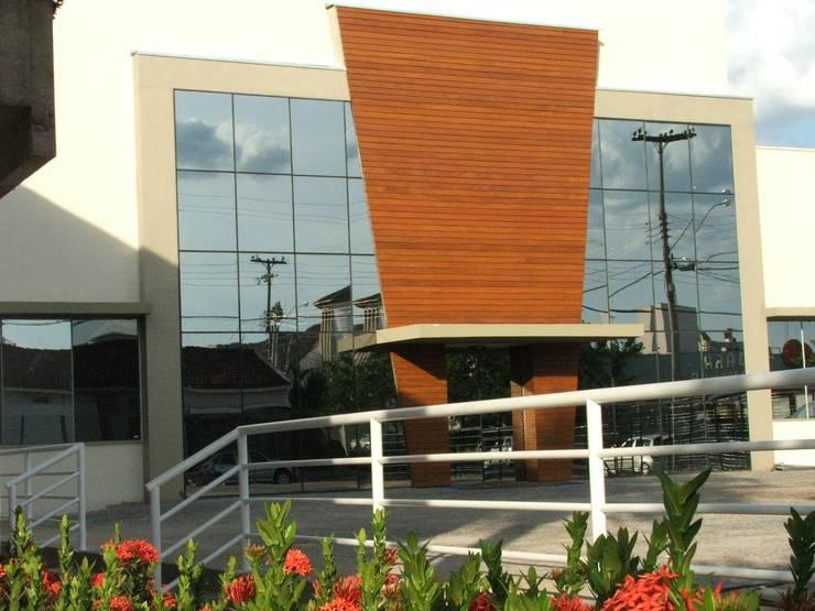 Fachada: Hospitais  por Habitat Arquitetos