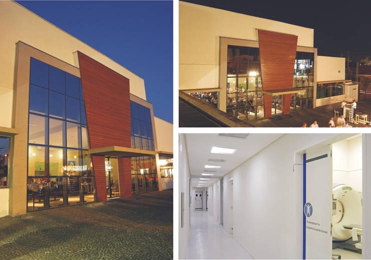 Imagens - Fachada e Interior: Hospitais  por Habitat Arquitetos