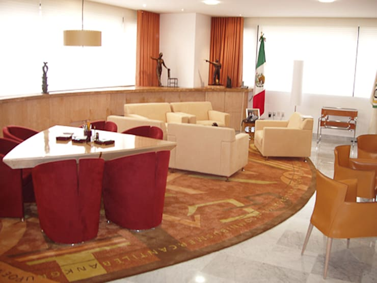 GEA: Estudios y oficinas de estilo  por DIN Interiorismo