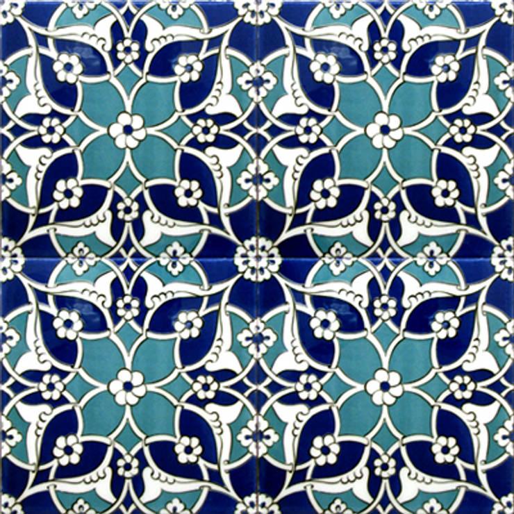 Troja: styl , w kategorii Ściany i podłogi zaprojektowany przez SERAMIK