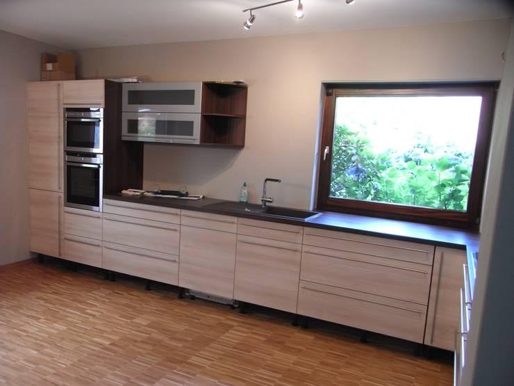 Küche nachher: moderne Küche von Grandi+Lutze