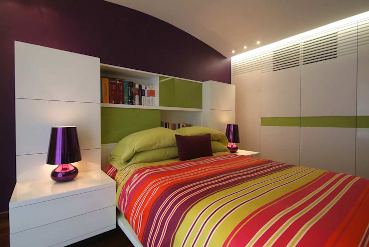 modern Bedroom by DIN Interiorismo