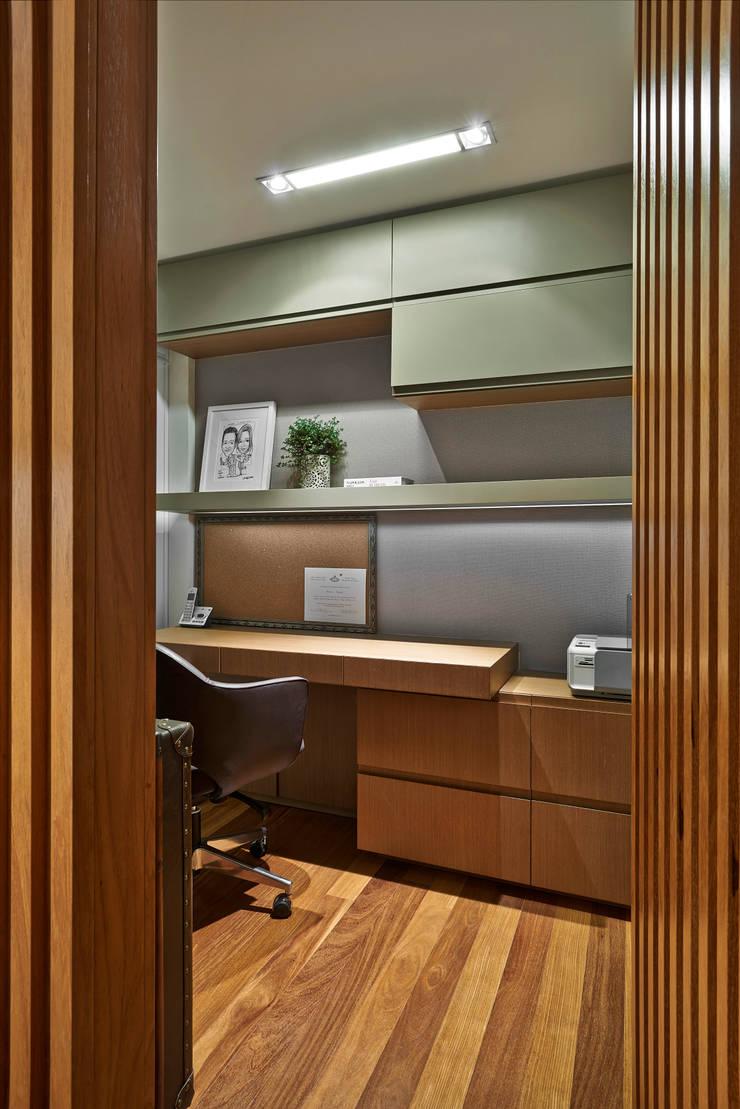 Home Office: Escritórios  por Juliana Goulart Arquitetura e Design de Interiores