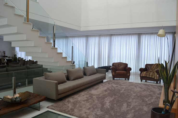 Living room by Juliana Goulart Arquitetura e Design de Interiores, Modern