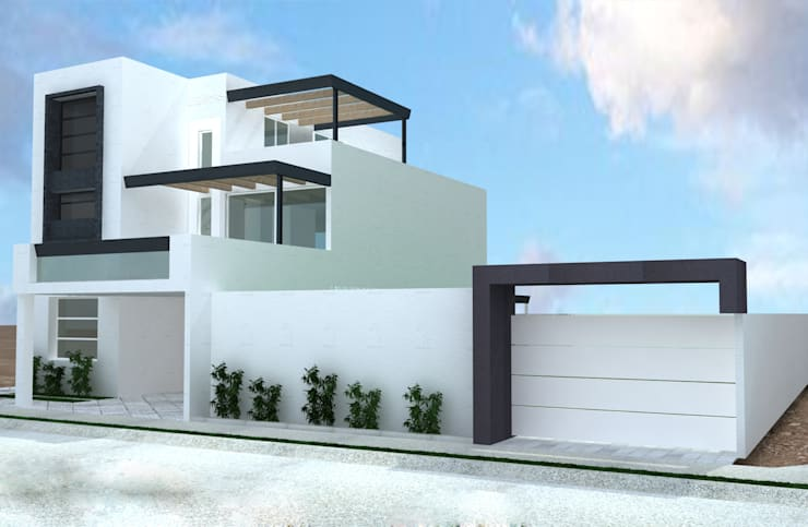 PROYECTO DE REMODELACION TRES ARROYOS: Casas de estilo  por A-labastrum   arquitectos