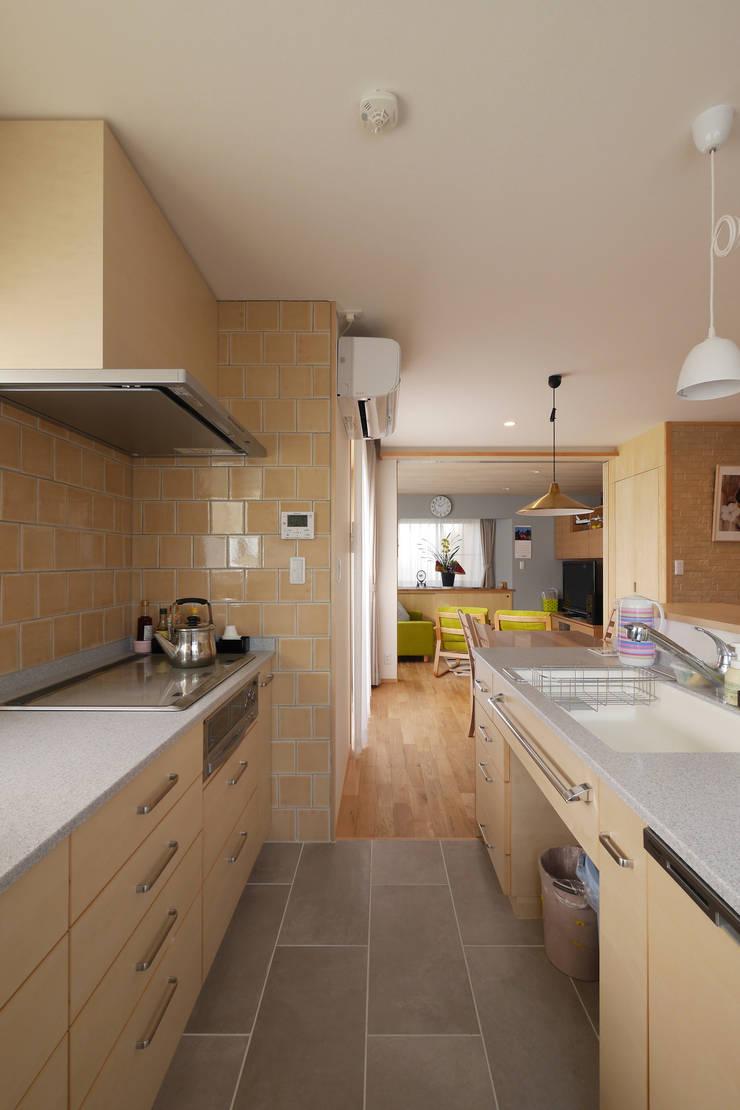 キッチン: 池田デザイン室(一級建築士事務所)が手掛けたです。