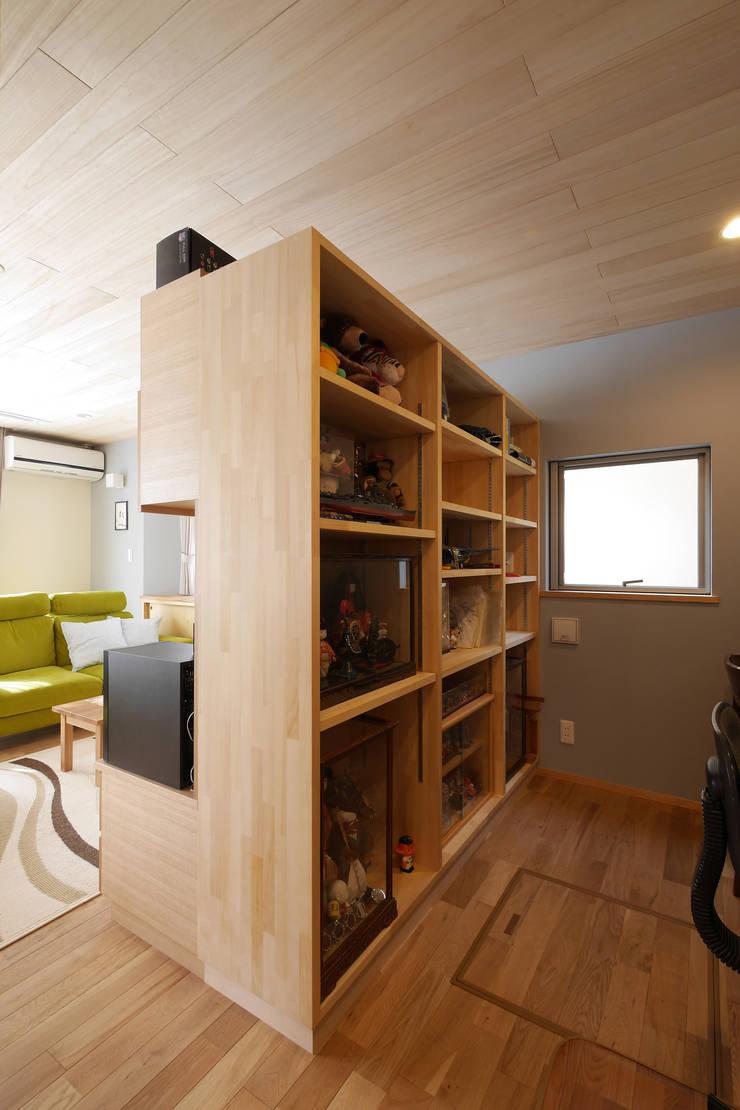 書斎コーナー: 池田デザイン室(一級建築士事務所)が手掛けたです。