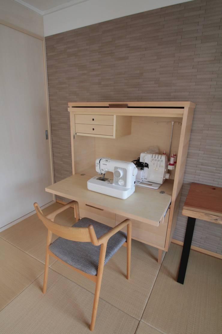 ミシンビューロ: 池田デザイン室(一級建築士事務所)が手掛けた多目的室です。