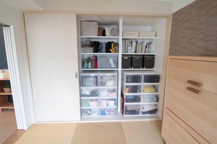 押入リノベーション02: 池田デザイン室(一級建築士事務所)が手掛けたです。