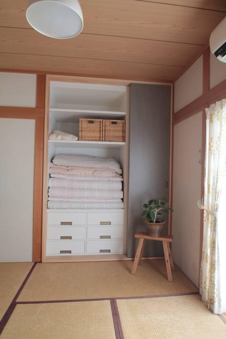 押入リノベーション01: 池田デザイン室(一級建築士事務所)が手掛けたです。,
