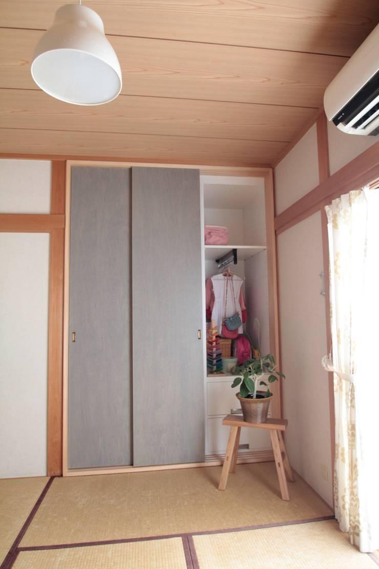 押入リノベーション02: 池田デザイン室(一級建築士事務所)が手掛けたです。,