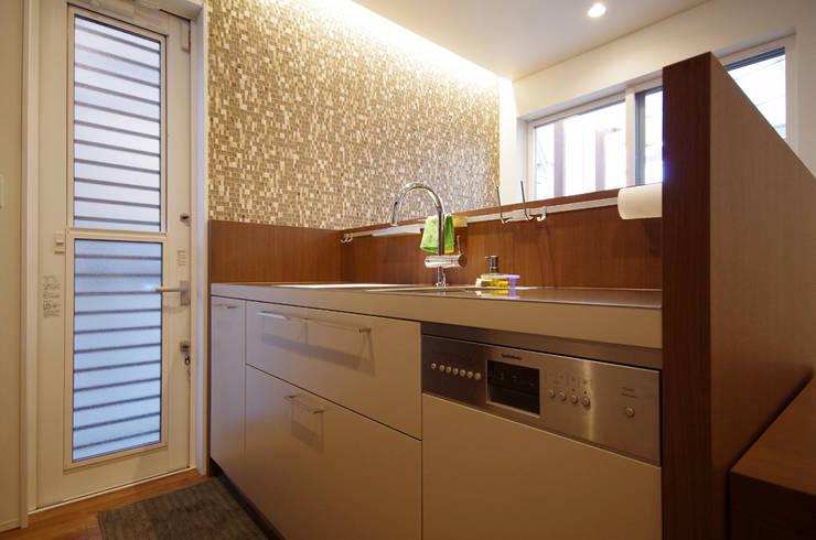 オーダーメイドキッチン: a core productsが手掛けたキッチンです。,
