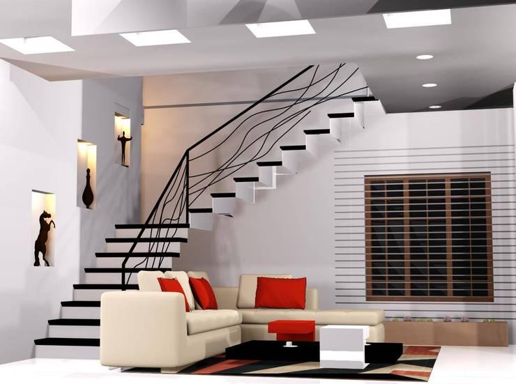 Living room by I Nova Infra