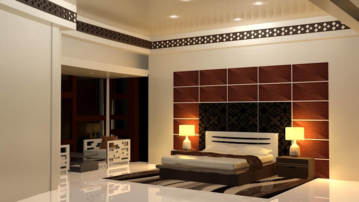 Bedroom Designs: modern Bedroom by I Nova Infra